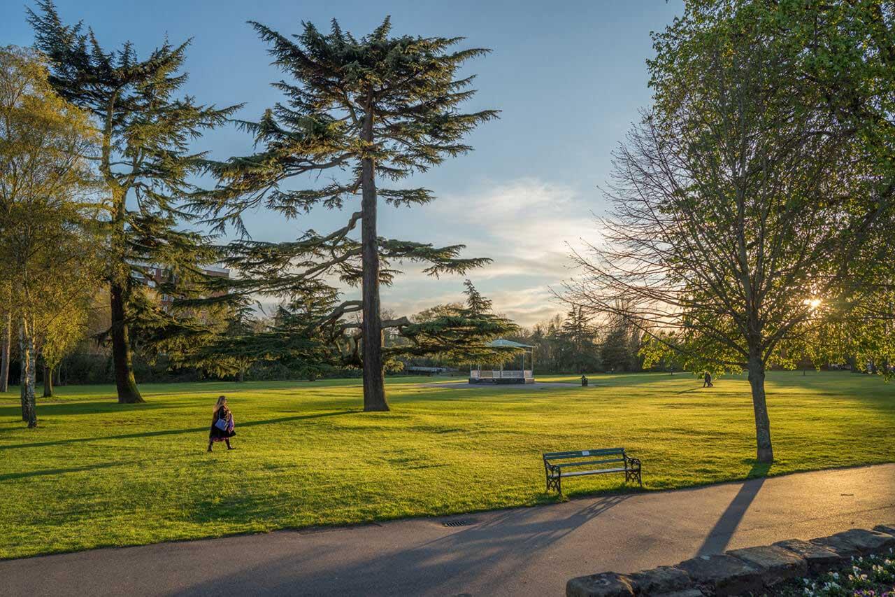 Park in Leamington Spa