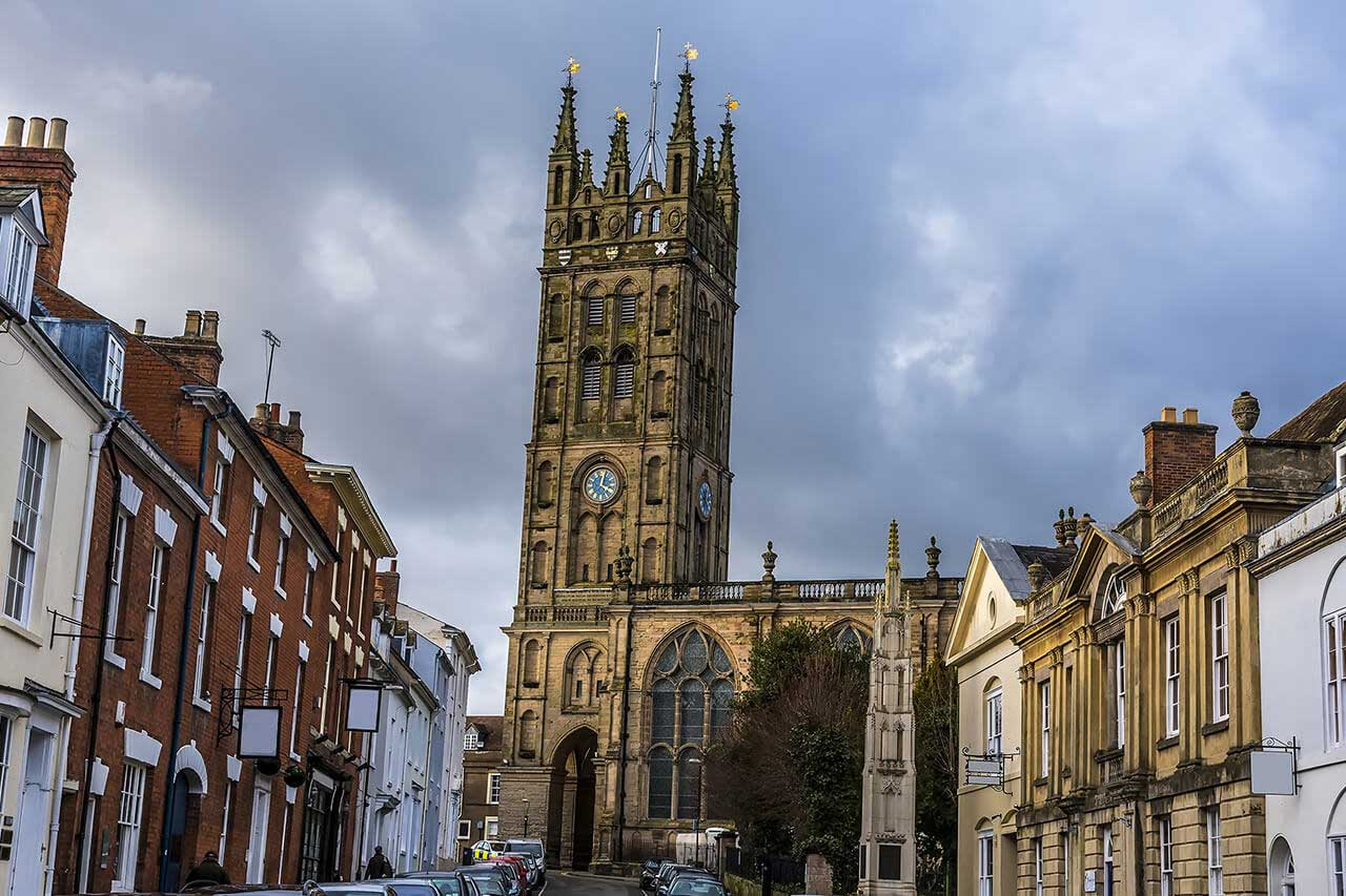 Warwick town centre