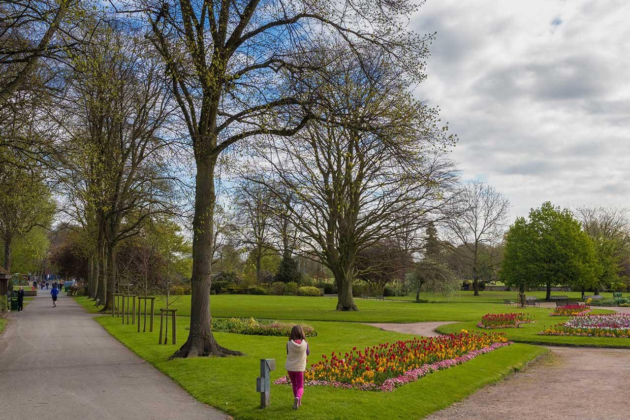 Victoria Park in Warwick